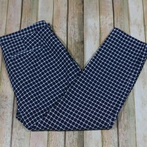 J. Crew Martie Pant in Windowpane G0893